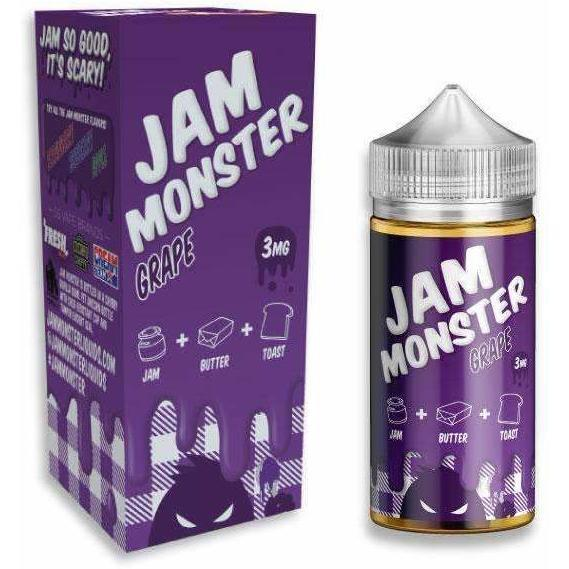 Grape by JAM MONSTER-E-Liquid-Pirate Point Vape