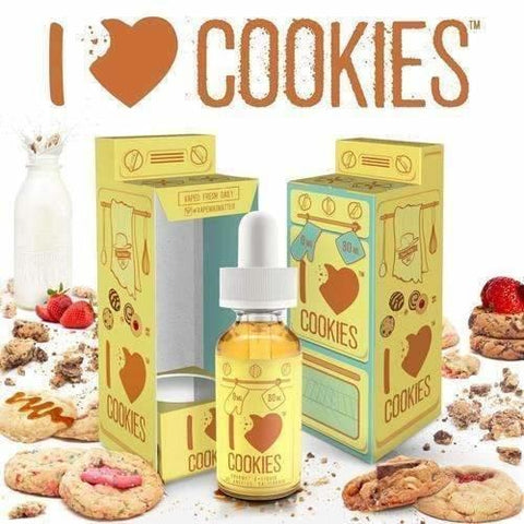 I Love Cookies by MAD HATTER-E-Liquid-Pirate Point Vape
