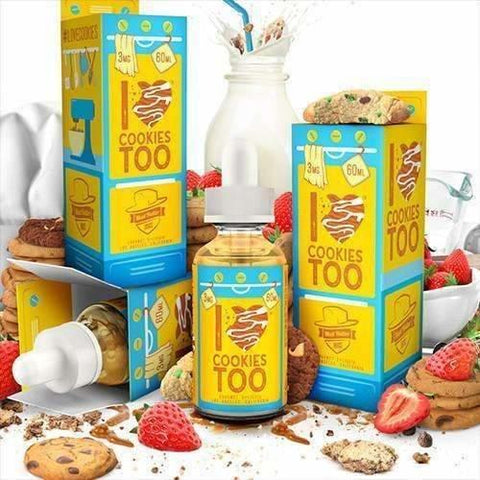 I Love Cookies Too by MAD HATTER-E-Liquid-Pirate Point Vape