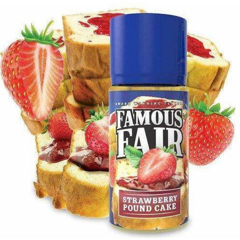 Strawberry Pound Cake by FAMOUS FAIR-E-Liquid-Pirate Point Vape