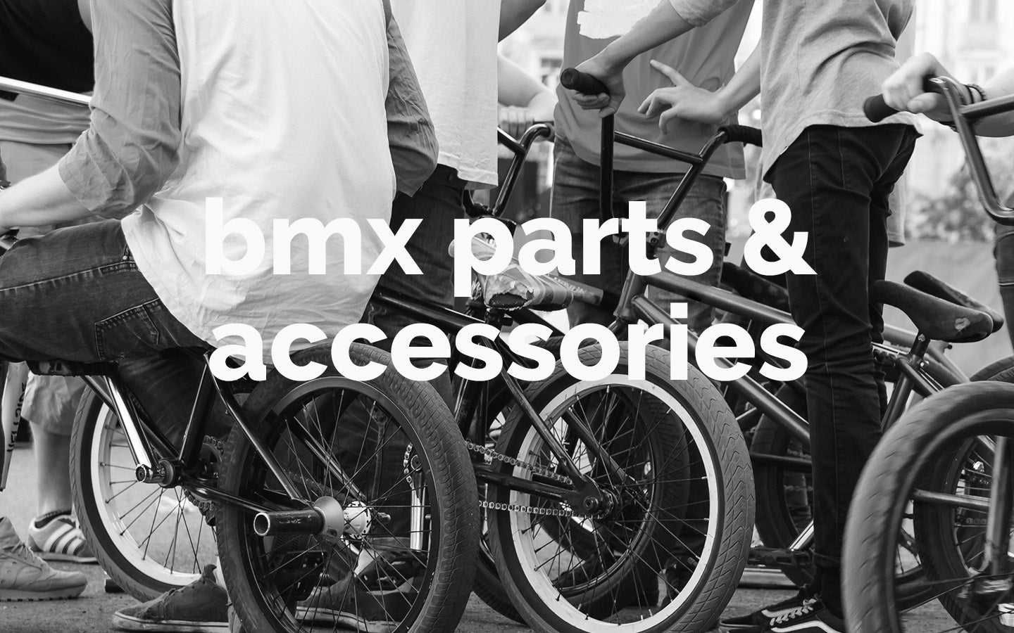 BMX Parts & Accessories At District Cycle Store Pakenham