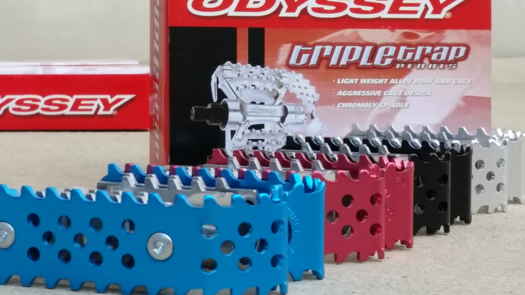 Odyssey Triple Trap Old/Mid School BMX Pedals