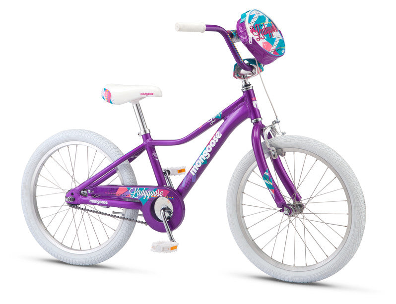 "2019 Mongoose Lady Goose Girls 20"" BMX"