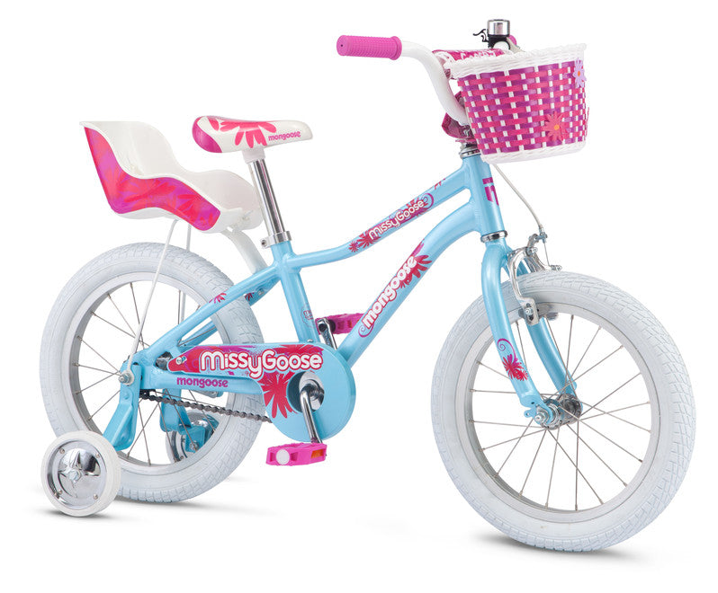 "2019 Mongoose Missy Goose 16"" Girls Bike"