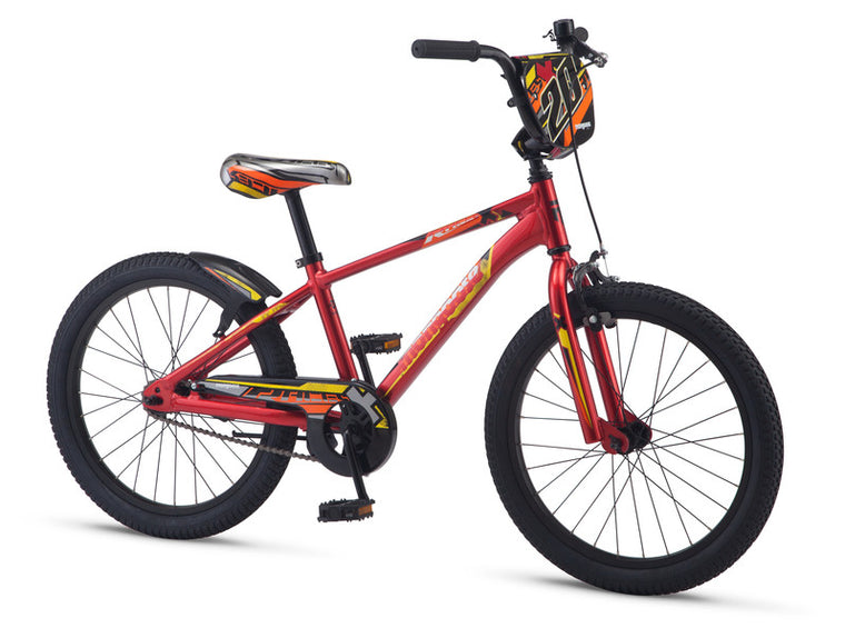 "2019 Mongoose Racer X Boys 20"" BMX"