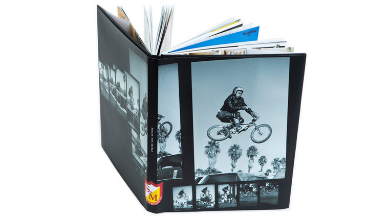 S&M Bikes Behind The Shield Hardcover Book