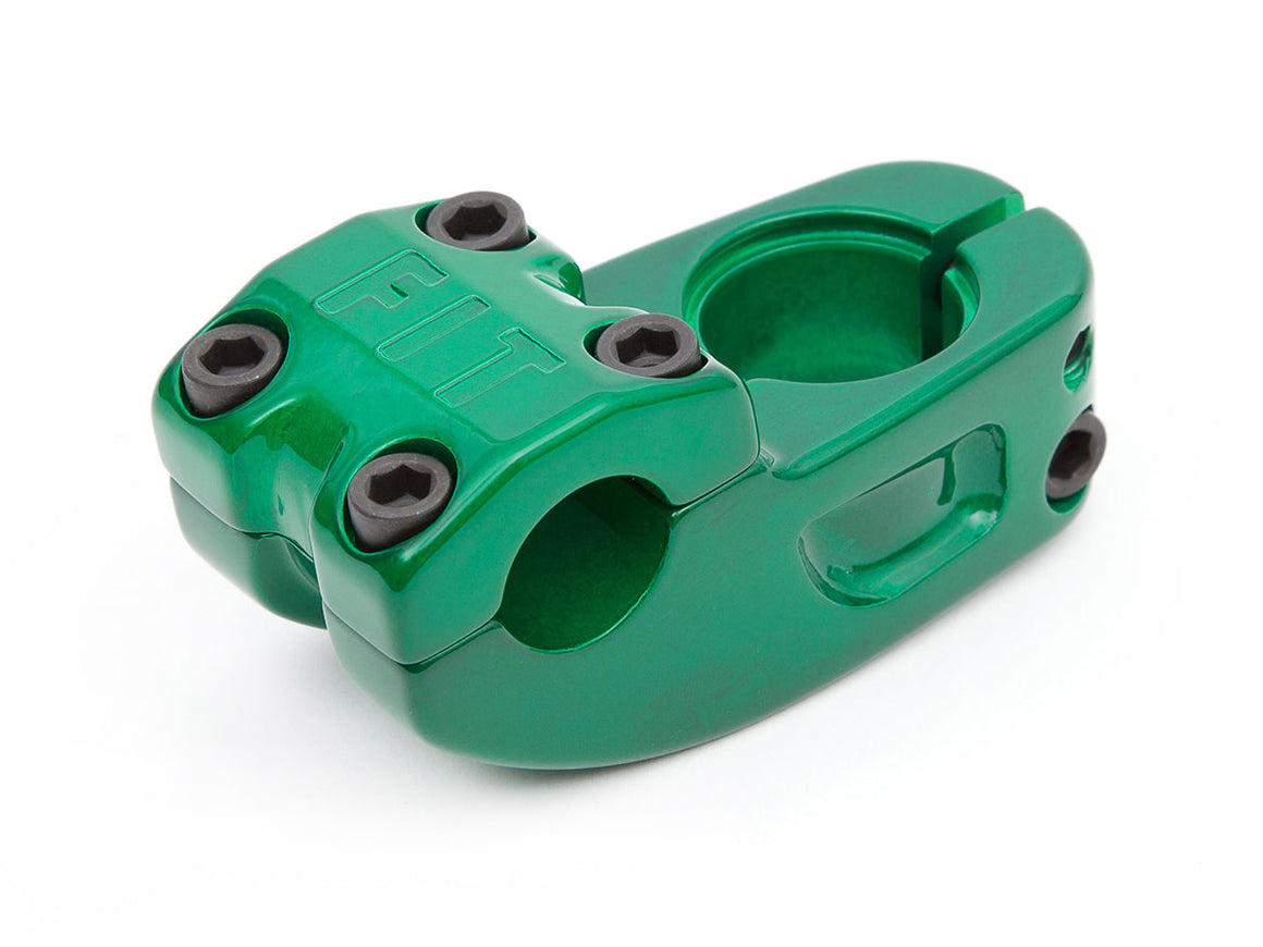Fit Bike Co High Top V2 Stem - Trans Green