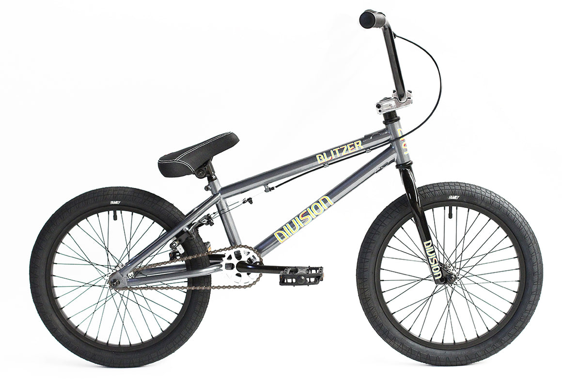 "2020 Division Blitzer 18"" BMX Bike - Grey"