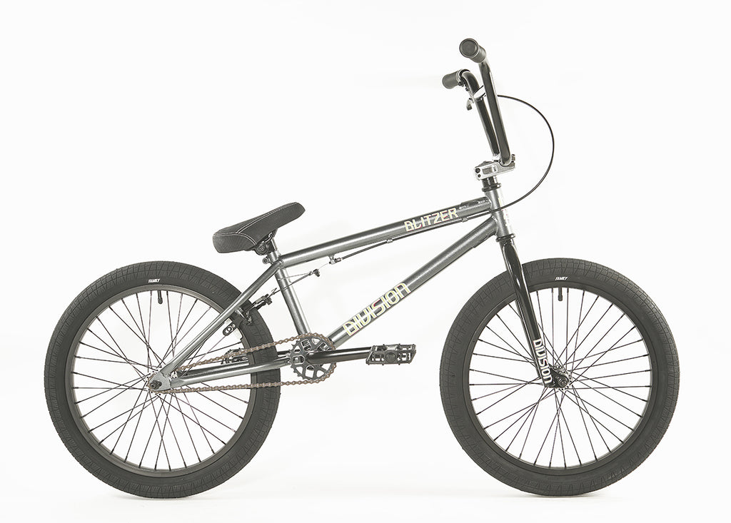 "2020 Division Blitzer 20"" BMX Bike - Grey"