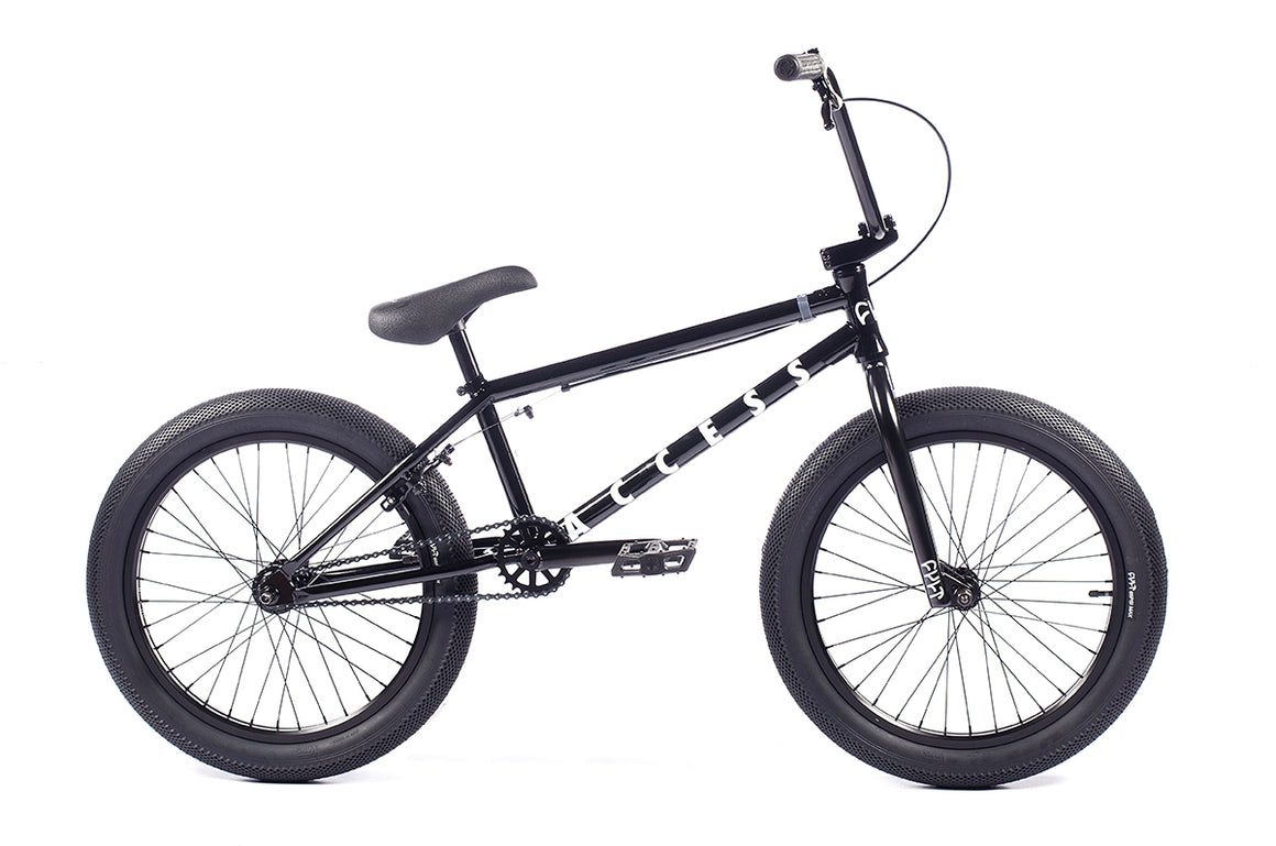 "2021 Cult Access 20"" BMX Bike - Gloss Black"