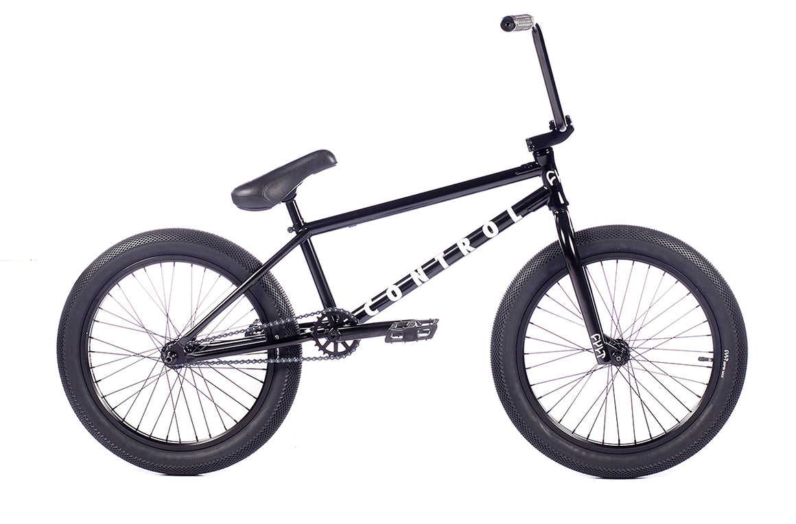 "2021 Cult Control 20"" BMX Bike - Gloss Black"