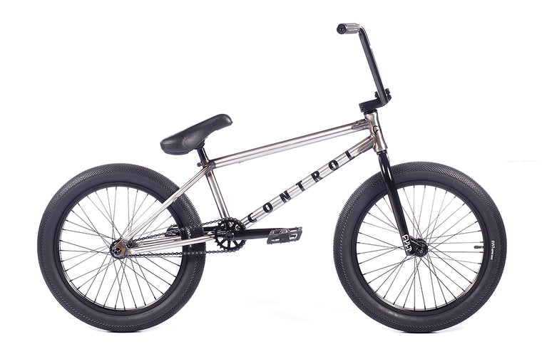 "2021 Cult Control 20"" BMX Bike - Clear Raw"
