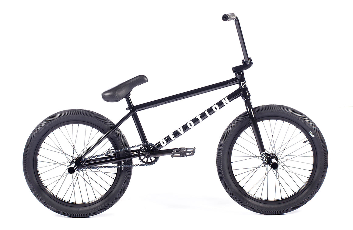 "2021 Cult Devotion 20"" BMX Bike - Gloss Black"