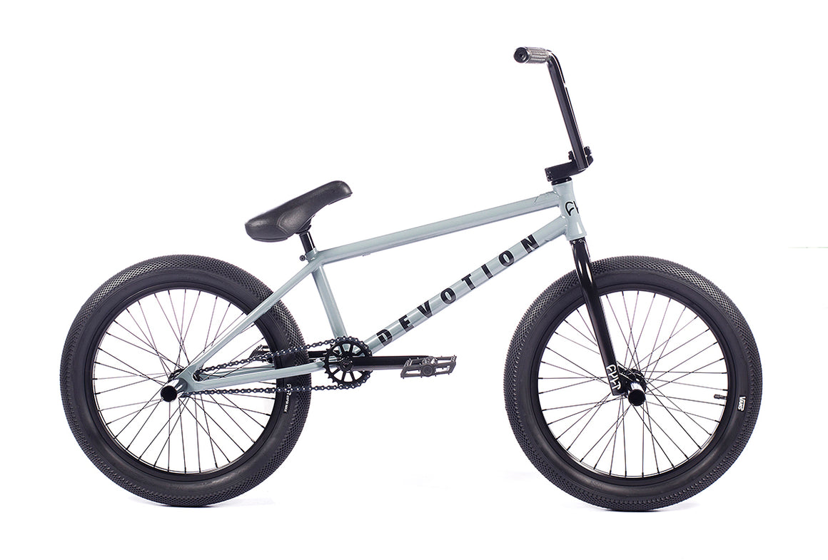 "2021 Cult Devotion 20"" BMX Bike - Flat Grey"