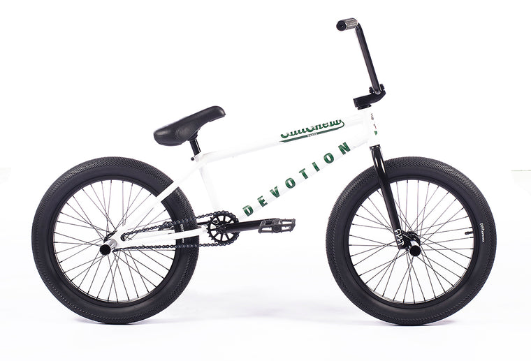 "2021 Cult Devotion 20"" BMX Bike - Panza White"