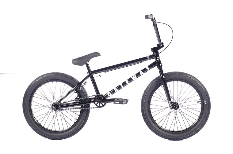 "2021 Cult Gateway 20"" BMX Bike - Gloss Black"