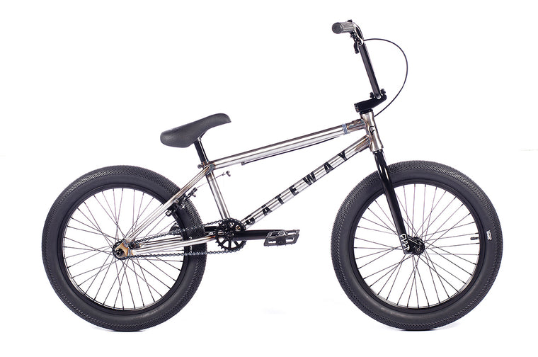 "2021 Cult Gateway 20"" BMX Bike - Clear Raw"