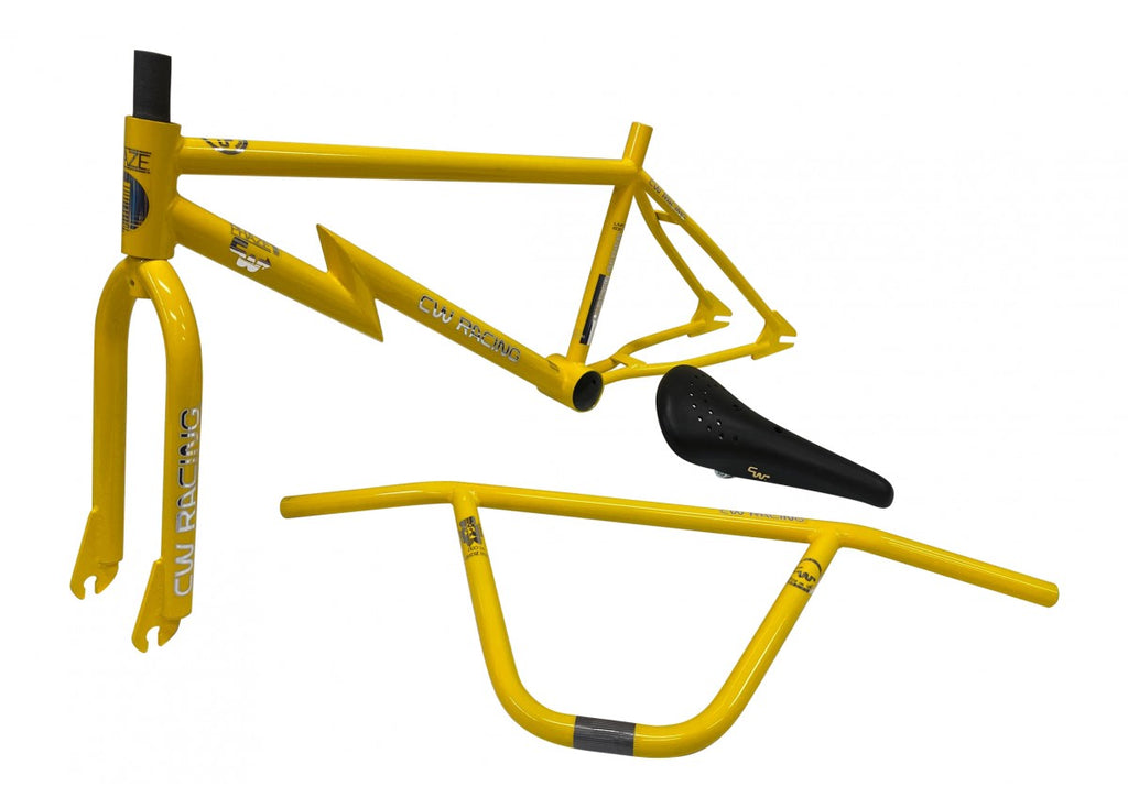 "CW Racing ""Legend Series"" Frame Combo - Yellow"