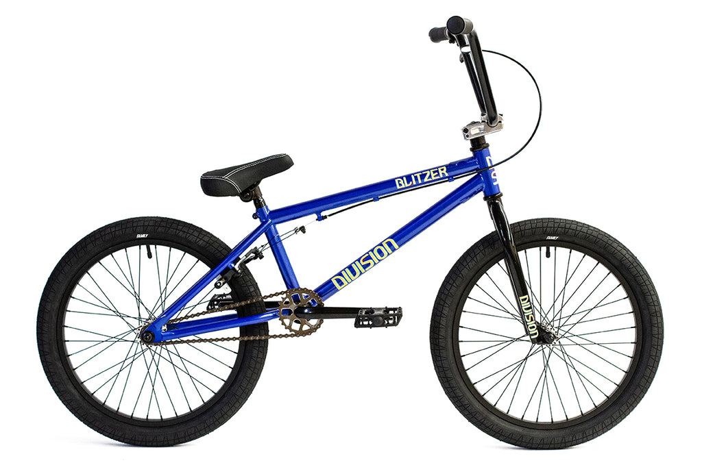 "2020 Division Blitzer 20"" BMX Bike - Metallic Blue"