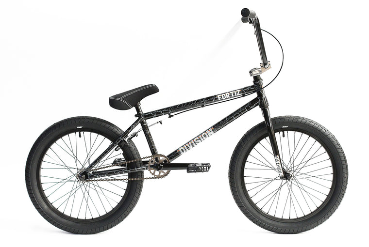 "2020 Division Fortiz 20"" BMX Bike - Crackle Silver"