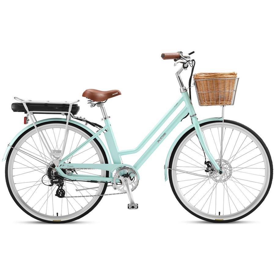 2021 XDS E-Conic Women's Retro E-Bike - Mint