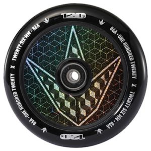 Envy Hollow Core Hologram Geo 120mm Wheels - sold as a pair