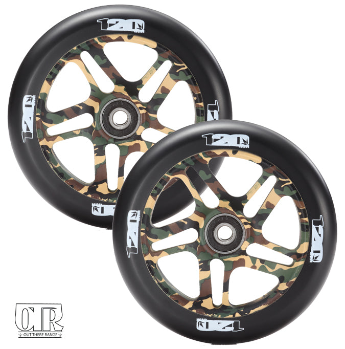 Envy OTR 2 Pack 120mm Scooter Wheels - Camo
