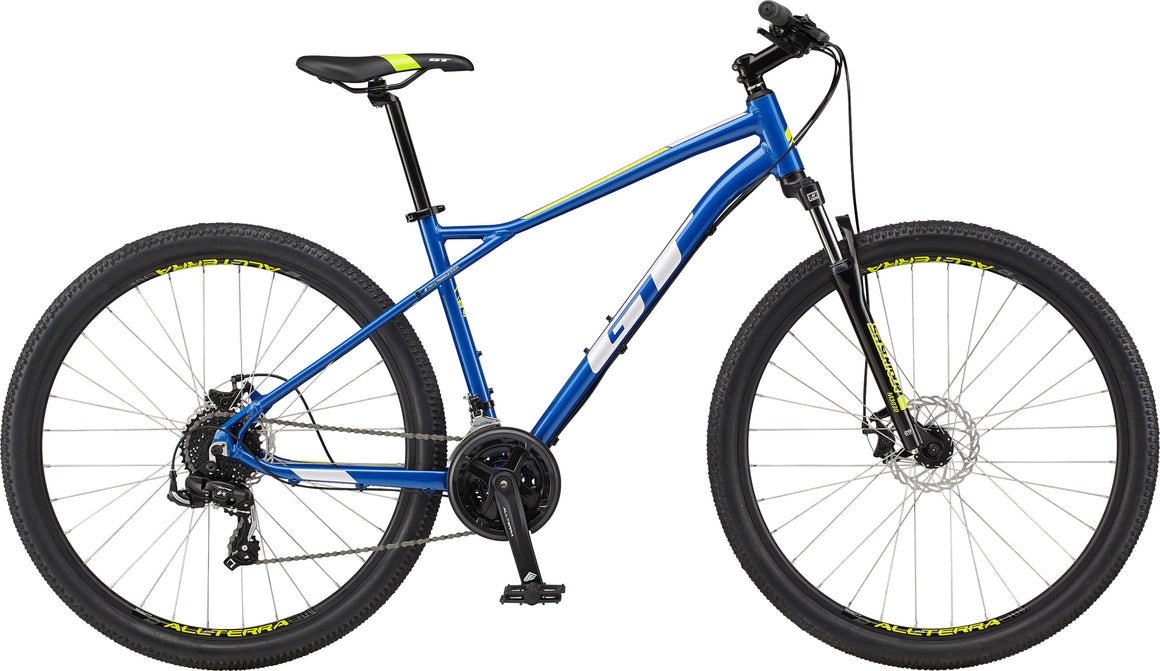 2021 GT Aggressor Sport MTB - Gloss Metallic Blue