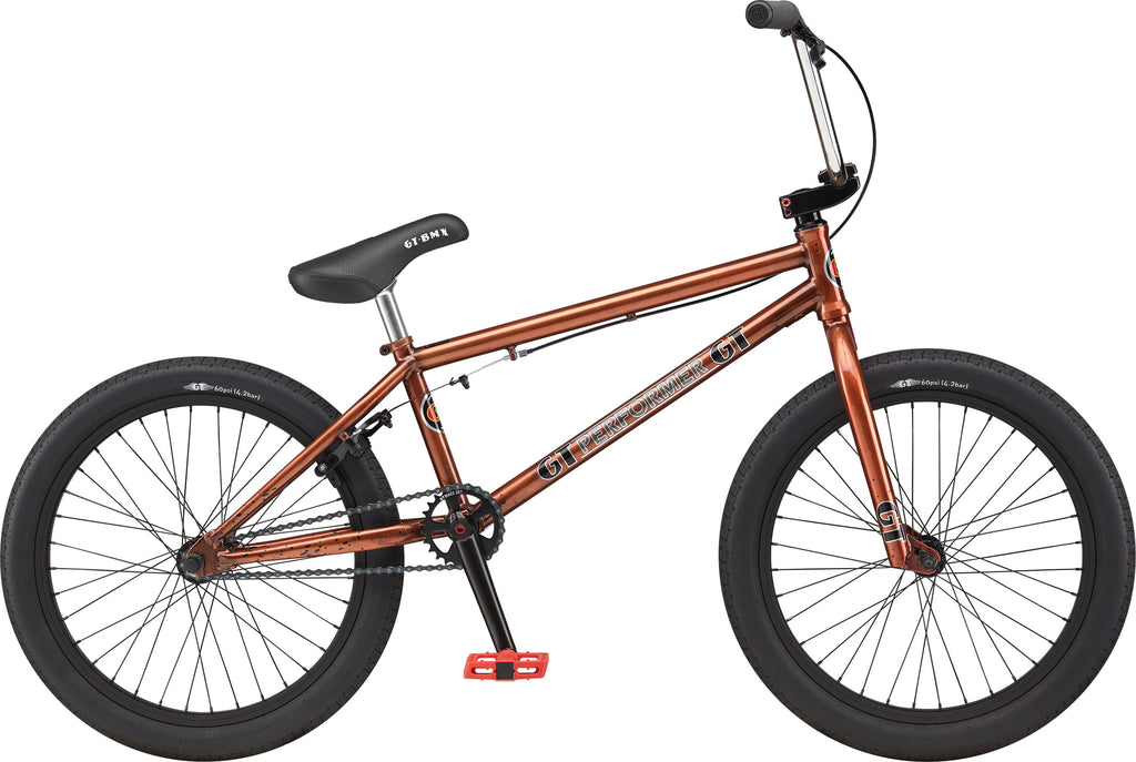 "2021 GT Performer 20"" BMX - Trans Copper"