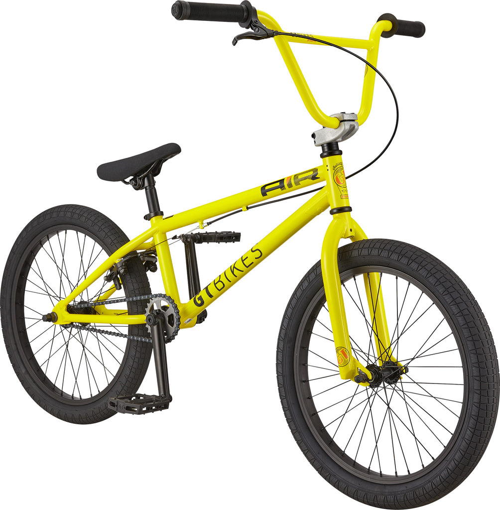 "2021 GT Air 20"" BMX - Gloss Yellow"