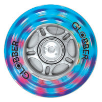 Globber Multicolour 80 mm Fantasy Lightning Wheel for Evo / Primo (1 wheel)