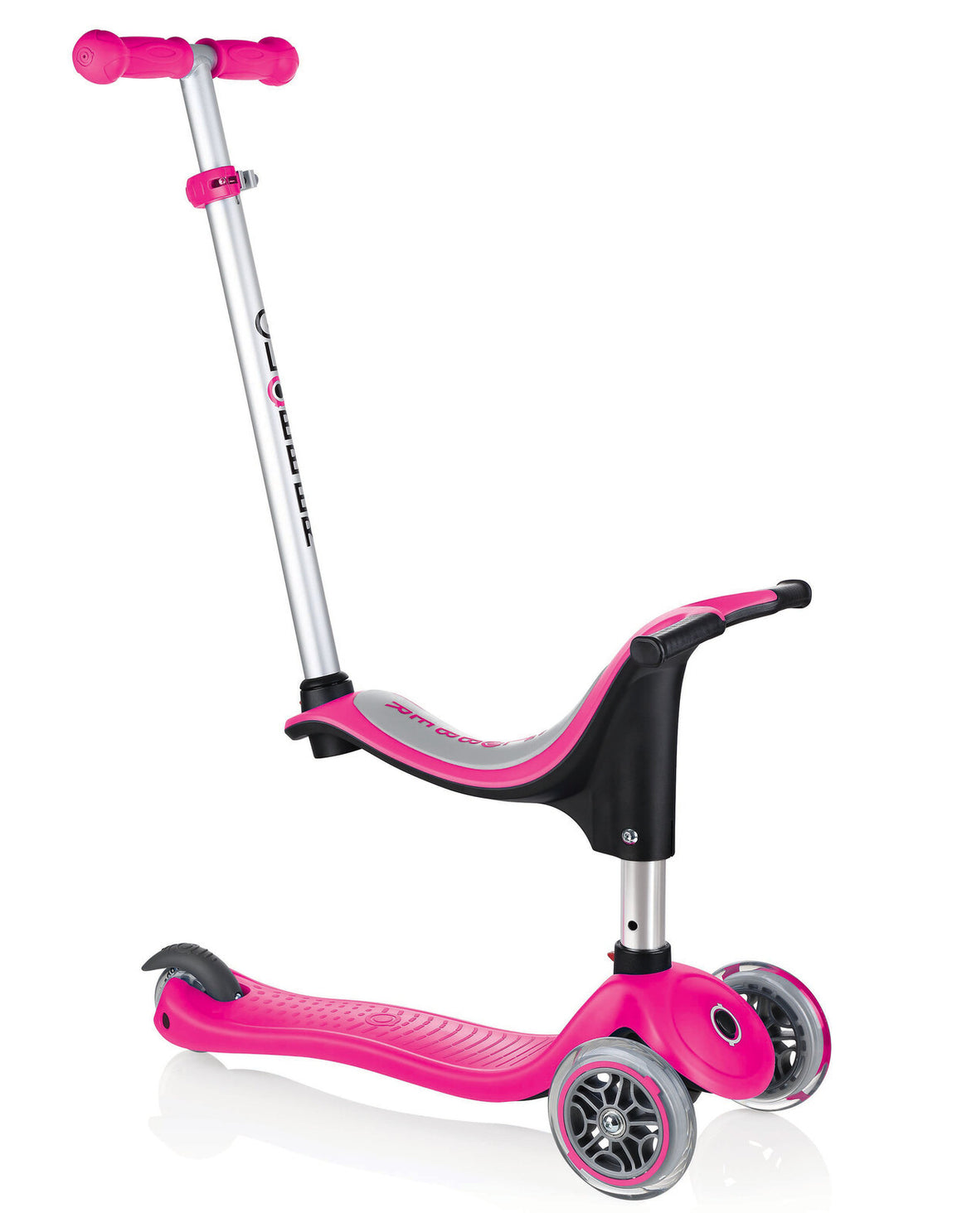 GLOBBER EVO 4 in 1 CONVERTIBLE in Pink or Blue
