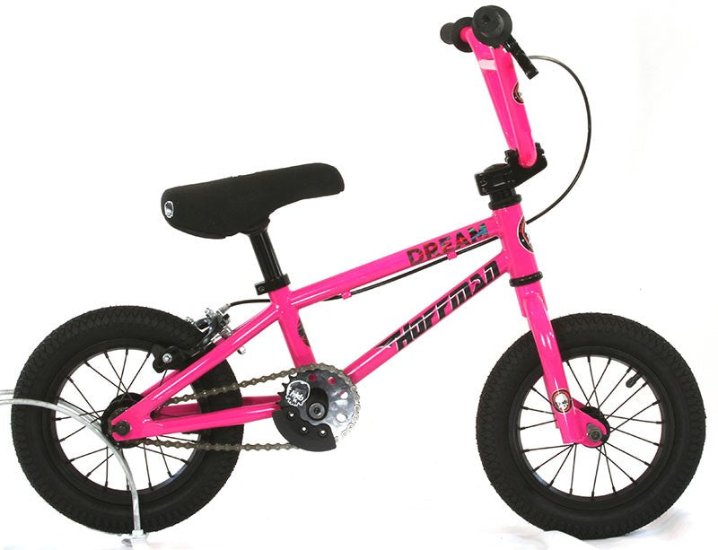 "2021 Hoffman ""The Dream"" 12"" BMX pedal & balance bike - Pink / Black - Pre Order"