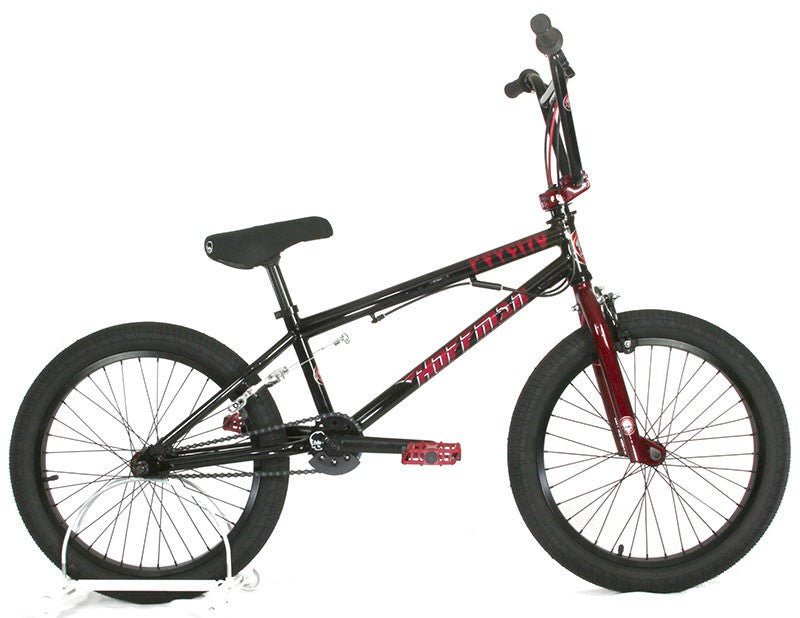 "2021 Hoffman Bikes Psycho 20"" with 20.5""TT BMX  - Black / Red - Pre Order"