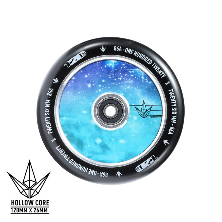 Envy Hollow Core Galaxy 120mm Wheels