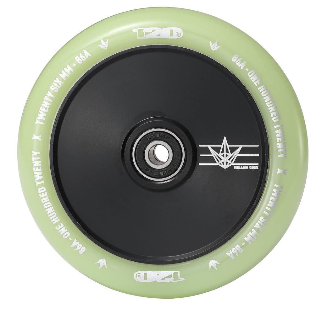 Envy Hollow Core Glow 120mm Scooter Wheels