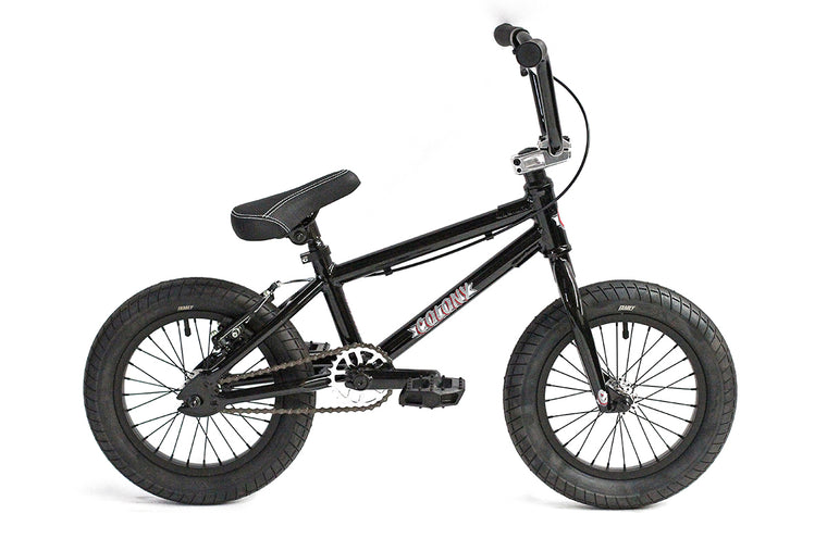"2020 Colony Horizon Micro 14"" Freestyle BMX - Gloss Black"