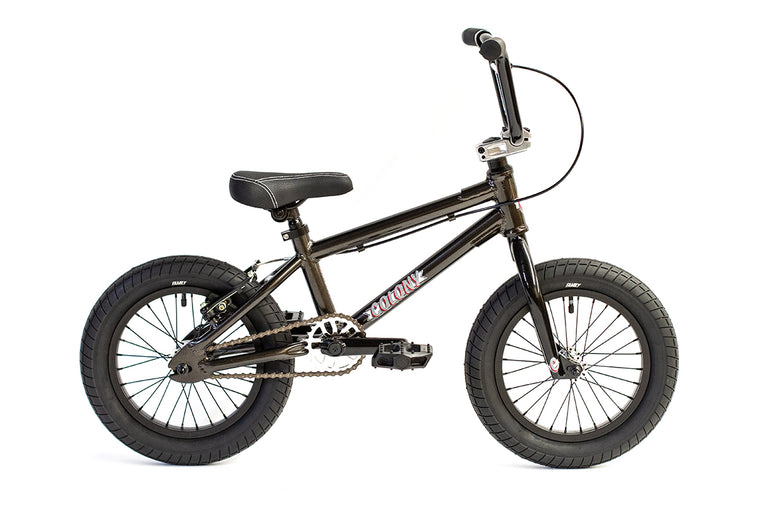 "2020 Colony Horizon Micro 14"" Freestyle BMX - Metal Grey"