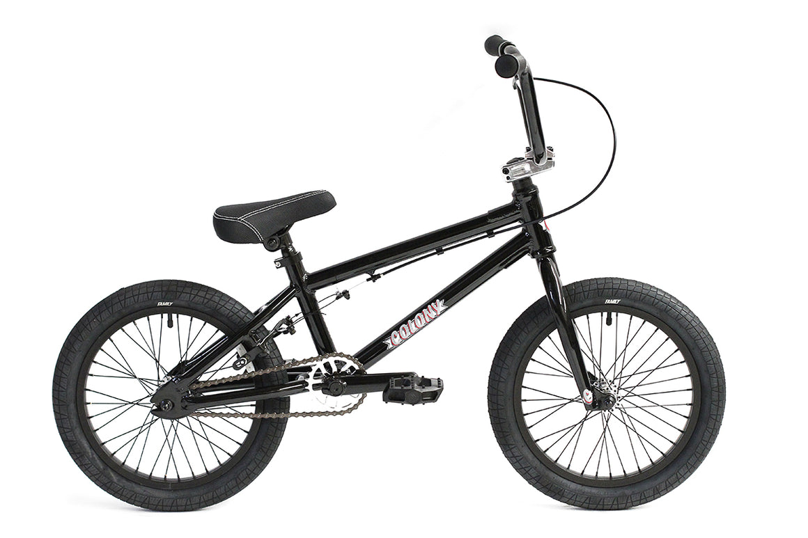 "2020 Colony Horizon Micro 16"" Freestyle BMX - Gloss Black"