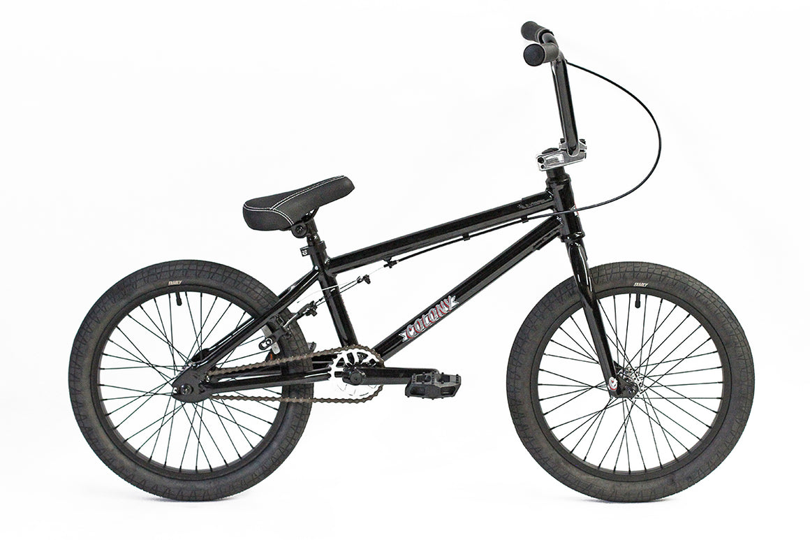 "2020 Colony Horizon Micro 18"" Freestyle BMX - Gloss Black"