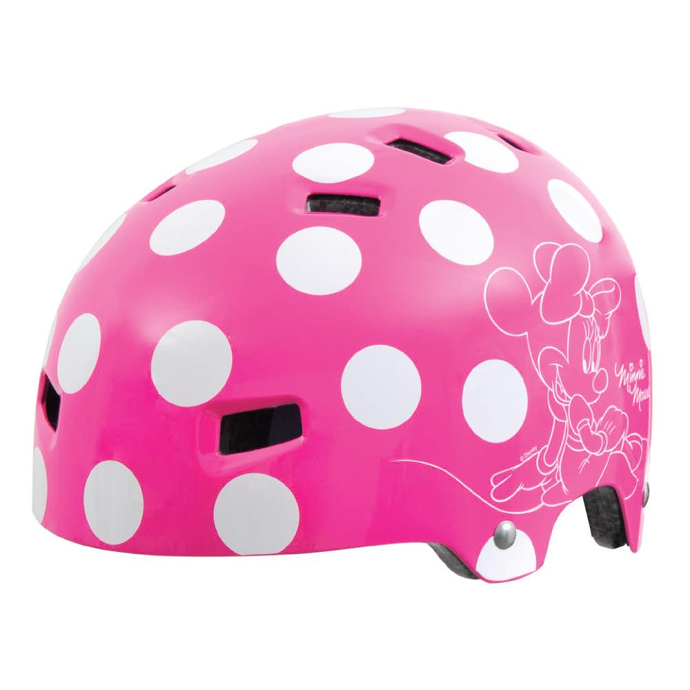 Officially Licensed Minnie Mouse Children's Helmet