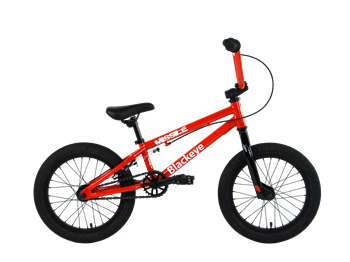 "2021 Blackeye Missile 16"" BMX - Gloss Red"
