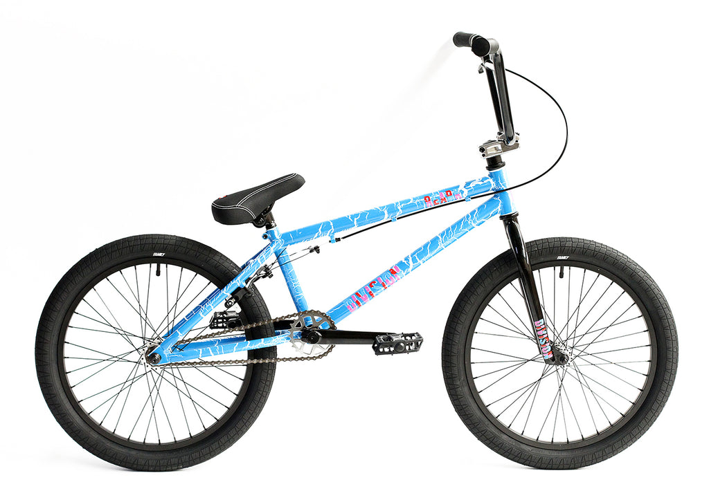 "2020 Division Reark 20"" BMX Bike - Crackle Blue"
