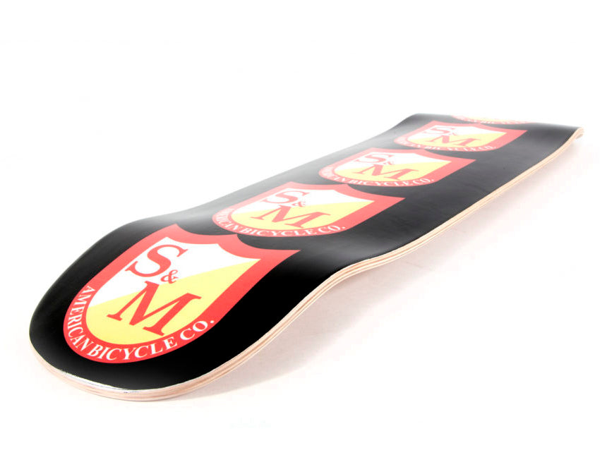 S&M Big Shield Skateboard Pool Deck