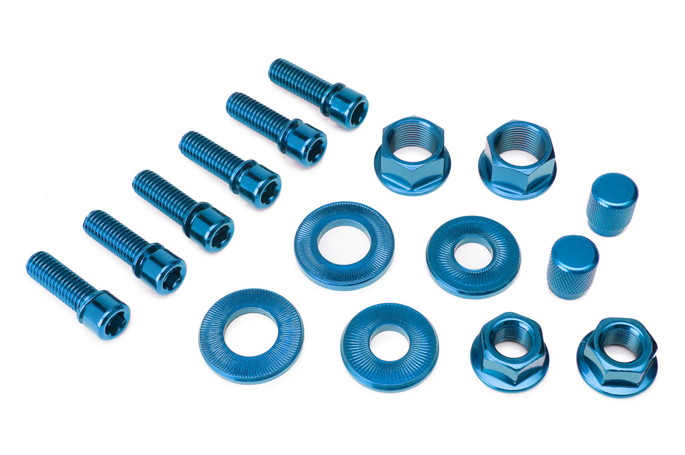 Salt BMX Nut And Bolt Set at District Cycle Store.