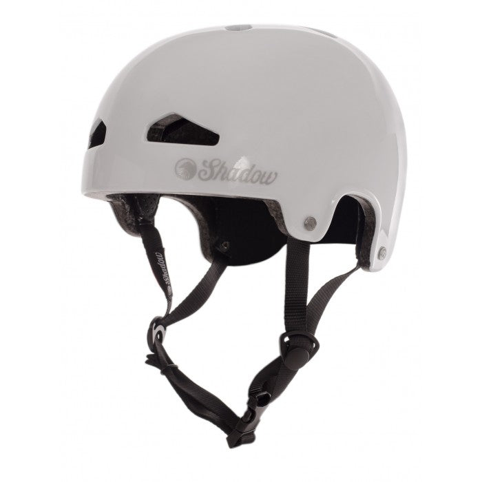 Shadow Featherweight In-Mold Helmet - Gloss White