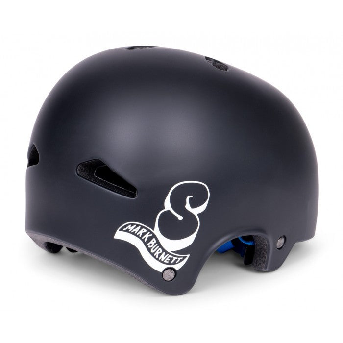 Shadow FeatherWeight In-Mold Helmet Burnett Signature - Matte Black