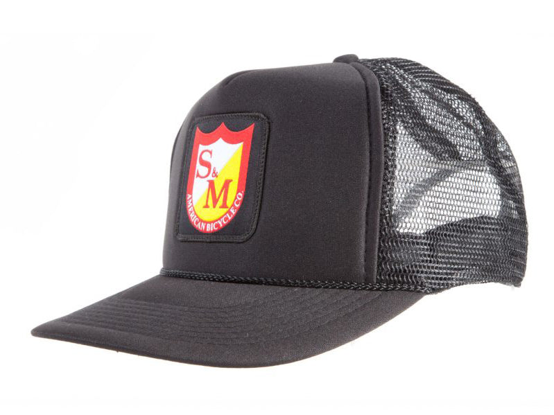S&M Bikes Patch Trucker Cap