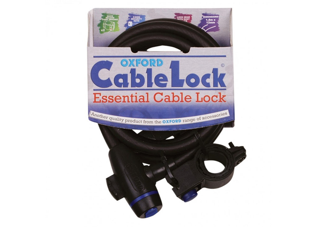 Oxford Cable Lock at District Cycle Store.