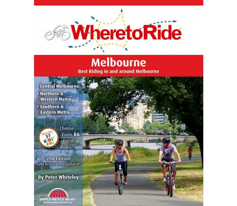 Where To Ride Melbourne Book